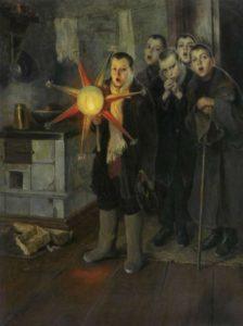 Художник Н.К. Пименко. Втор. пол. 1880-х. Колядки