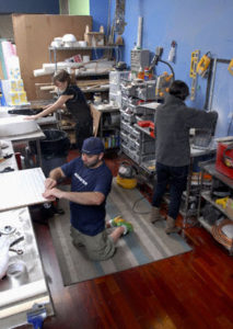 Пекарня в Charm City Cakes -toolspace