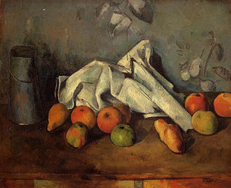 Поль Сезанн натюрморт с яблоками