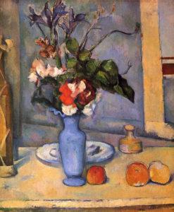 Поль Сезанн. Натюрморт с голубой вазой, 1890