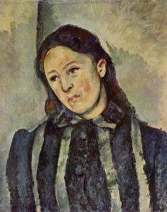 Портрет мадам Сезанн 1890-1892