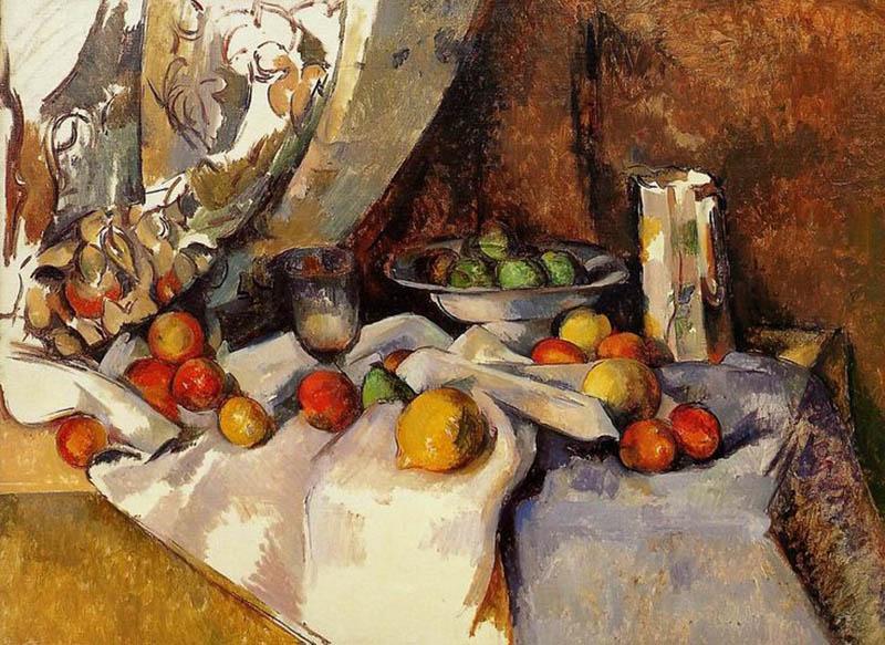 Поль Сезанн, Натюрморт с яблоками 1890