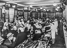 Sloppy_Joe's_Bar,_Havana_интерьер, 1930-е гг.
