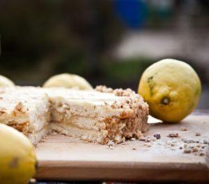 лимонный торт Анке