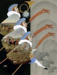 иллюстрация - Марина Richterová - Сонеты Уильям Шекспир