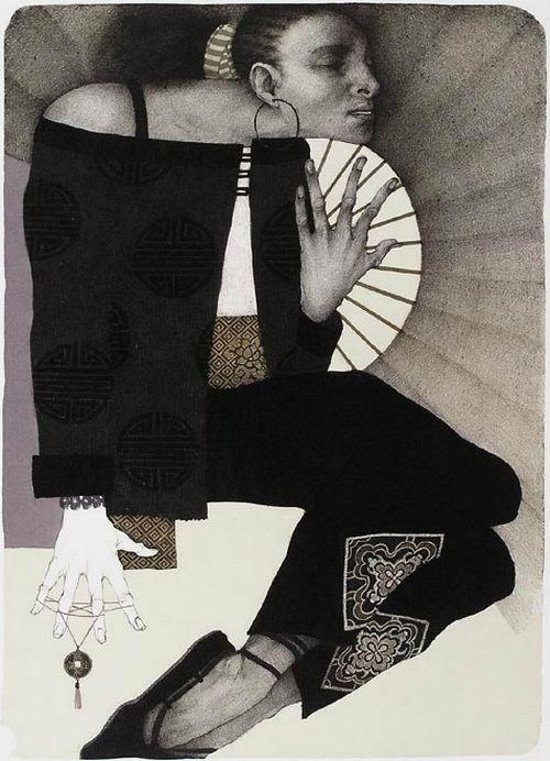 графика-Marina Richterová - Таинственный танец, 2007
