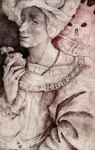 графика марины рихтер- король и смерть