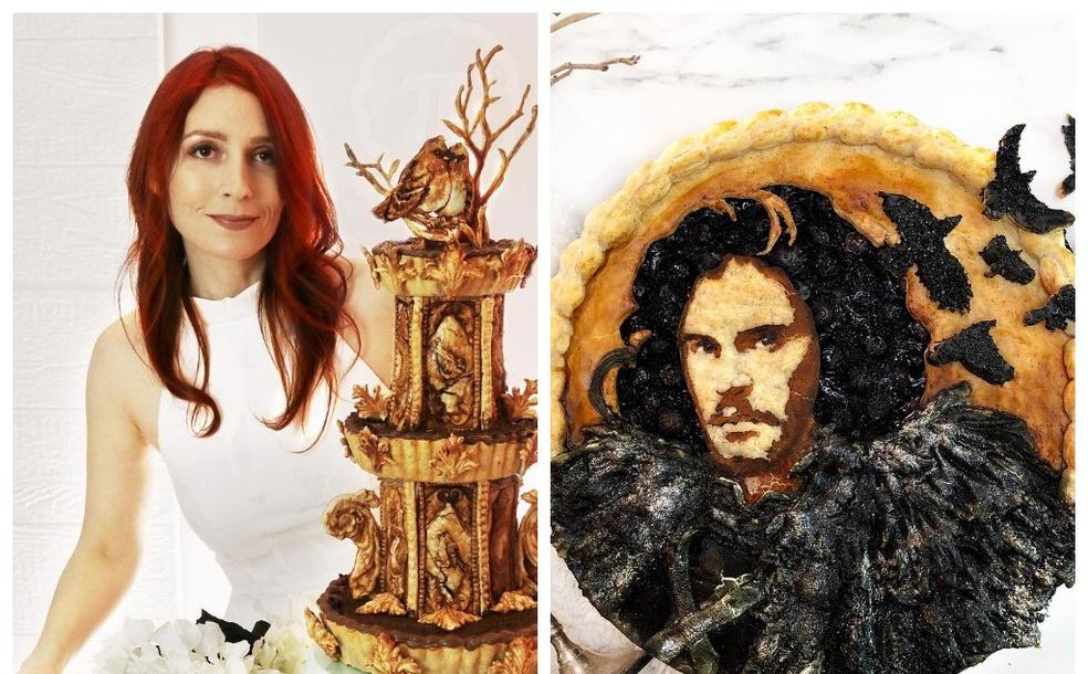 креативные пироги Джессики Ли Кларк-Божин