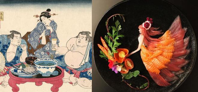 сашими - искусство японской еды