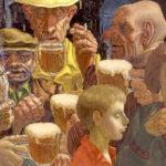 пиво в живописи