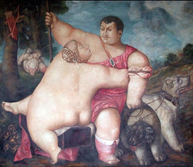 Венера и Адонис-2006-Рамиль Хабибуллин