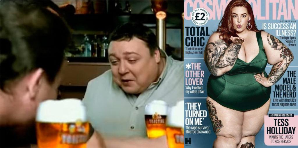 рекламные персонажи толстяков