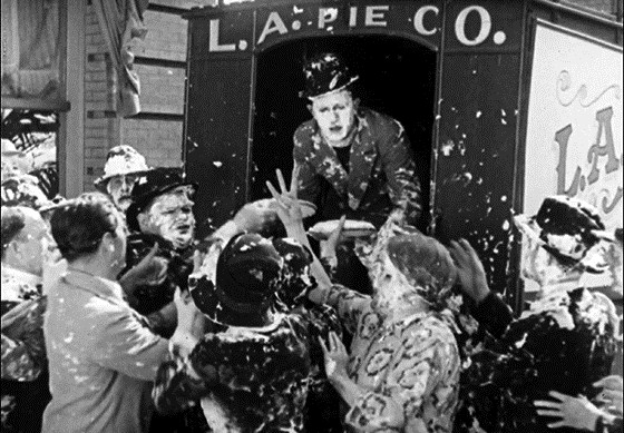 кадр из комедии Битва века-1927