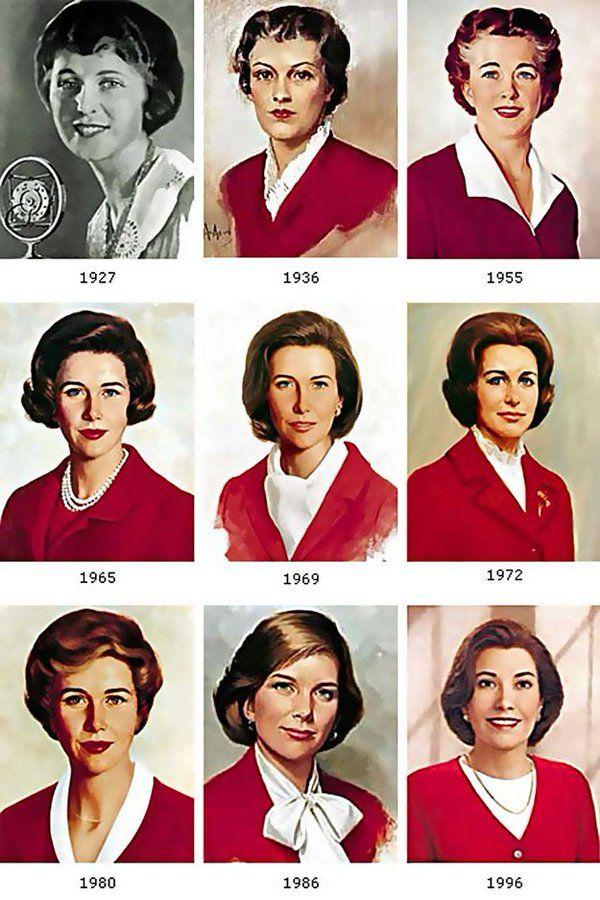 портреты Бетти Крокер