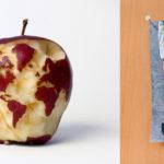 Яблочная карта мира. Кевин Ван Алст
