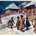 Рождественские колядования_Со звездой_1916