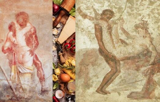 эротические фрески найденные в Помпеях