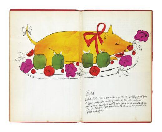 иллюстрация Э.Уорхола для кулинарной книги Дикая малина