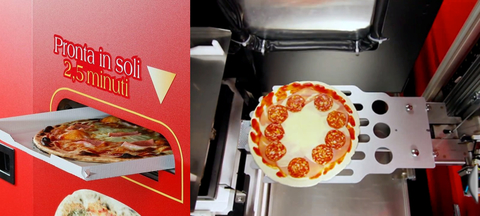 итальянский пиццемат полного цикла