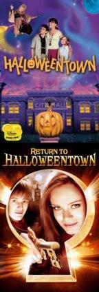 постеры фильмов Halloweentown, 1998-2006