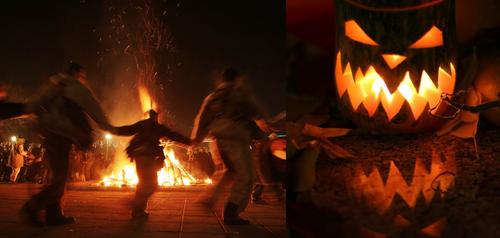 празднование языческого Хэллоуина