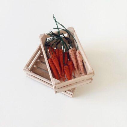 рукоделие_морковь из валяной шерсти_ Veselka Bulkan