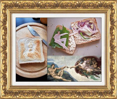 необычный дизайн бутербродов