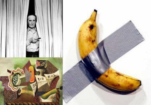 еда в формате современного искусства