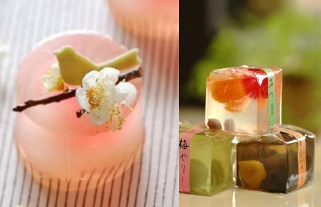 дизайн японских десертов-желе